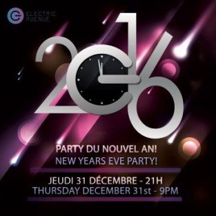 Buy Electric Avenue New Years Eve 2021 tickets - NO SERVICE FEES! Montreal, QC
