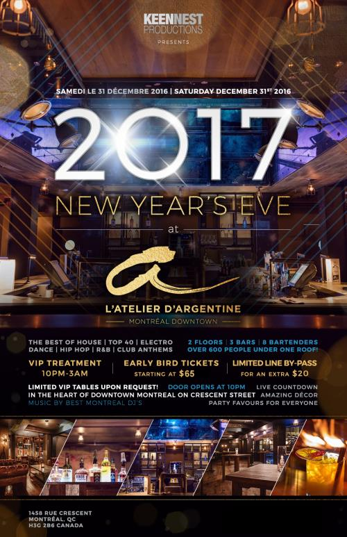 Buy L Atelier D Argentine New Years Eve 2019 Tickets No