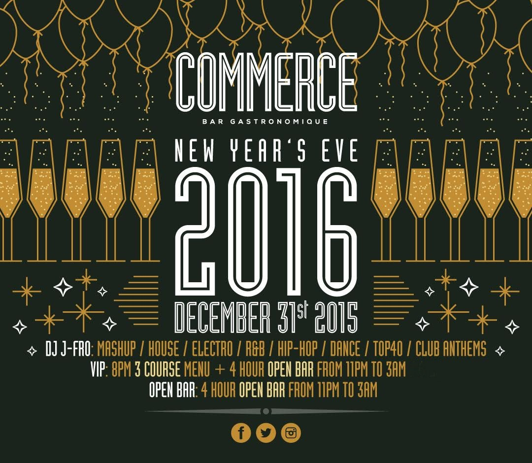 Buy Commerce New Years Eve 2019 Tickets No Service Fees